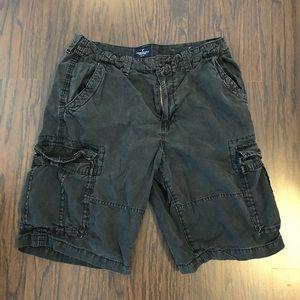 American Eagle longboard dark gray shorts size 34